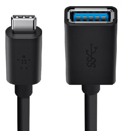 Cáp USB-C to USB-A Belkin F2CU036btBLK