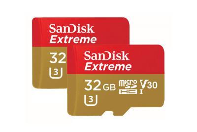 Thẻ nhớ Micro SDHC Sandisk 32GB Extreme Action Camera V30
