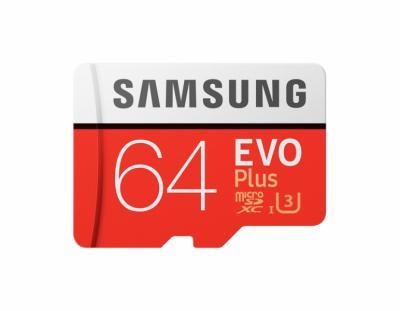 Thẻ nhớ Micro SDXC Samsung 64GB EVO Plus (class10)