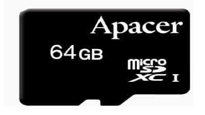 Thẻ nhớ Micro UHS1 64GB Apacer (Class 10)