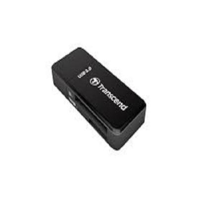 Đầu đọc thẻ nhớ USB3.0 UHS-I SDHC, SDXC UHS-I,  micro SDHC UHS-I, micro SDXC UHS-I - F5K (màu đen) Transcend