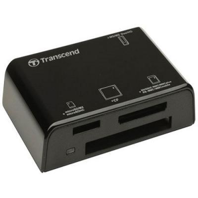 Đầu đọc thẻ nhớ USB2.0 All in1 Multi-Card Reader  - P8K (màu đen) Transcend